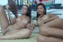 Dos Linda bien hermosas teniendo como nunca una linda trasmision online