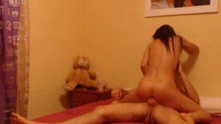Alexa Tomas fucks her boyfriend,filmed in hidden camera